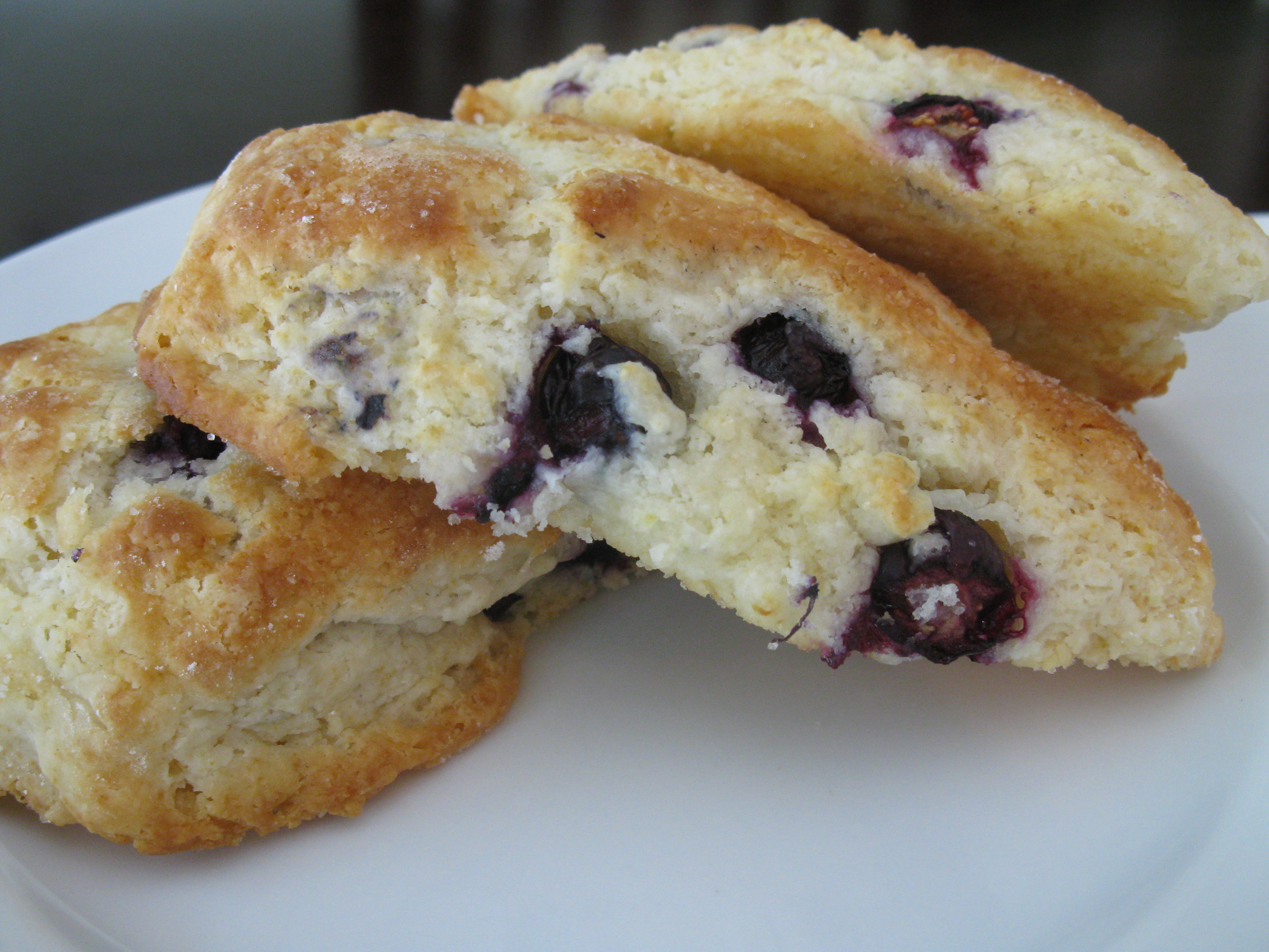 Blueberry Scones | Sweet Savory Southern